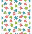 Cute monsters pattern vector