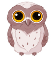 Cute owlet vector