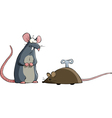 Two mouse vector