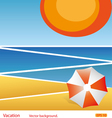 Vacation abstract background vector