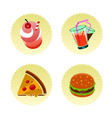Fast food set two vector