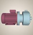 Centrifugal pump vector