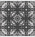 Monochrome ornament seamless stylized ornamental vector
