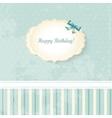 Wedding invitation card classic romantic design vector