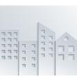 Modern city background vector