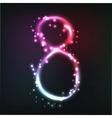 Luminous numbers vector