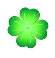 Green clover symbol vector