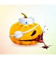 Doc pumpkins vector