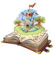 Magic world of tales vector