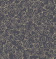 Hand drawn floral seamless pattern vector