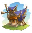 Fairy windmill vector