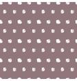Vintage polka grunge dots seamless pattern vector