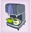 Cartoons coffee maker vector