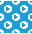 Play hexagon pattern vector