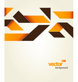 Abstract template with stripes and place for your vector