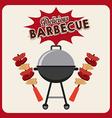 Barbecue food vector