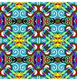 Seamless geometry vintage pattern ethnic style vector