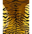 Imitation of tiger leather as a background vector