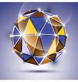 Stylish shiny jewel effect eps10 gala 3d vector