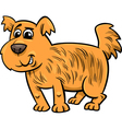 Shaggy dog cartoon vector