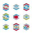 Abstract creative design elements collection vector