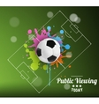 Public viewing vector