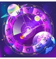 The signs of the zodiac zodiac circle in space vector