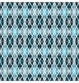 Blue and gray seamless checkered pattern vector