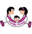 Family game console vector