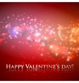 Happy valentines day holiday background with vector