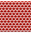 Seamless structure canada day vector