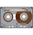 Audio cassette tape vector