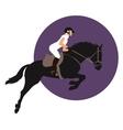 Equestrian sports design vector