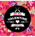 Valentines day postertypography vector