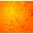 Abstract triangle tech background vector