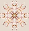 Flower henna vector
