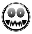 Monstar button vector