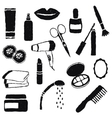 Doodle cosmetics images vector