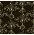 Seamless beautiful antique lace pattern ornament vector