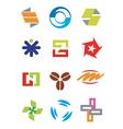Creative design symbols icons vector