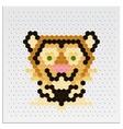 Mosaic tiger vector