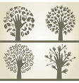Hand a tree4 vector
