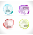 Colorful bubbles abstract design elements vector