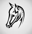 Horse tribal vector