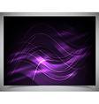 Abstract glowing background vector