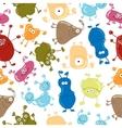 Bacteria seamless pattern medicine background vector
