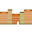 Street building vector