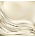 Abstract texture gold silk vector