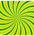 Lime abstract grunge hypnotic background vector