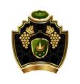 Grapevine symbol vector